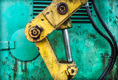 Industrial Hydraulic Royalty Free Stock Photo