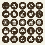 Industrial icons set Stock Photography