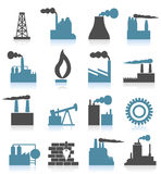 Industrial icons6 Royalty Free Stock Photo