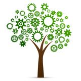 Industrial innovation concept tree Stock Photography