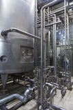 Industrial interior of an alcohol factory Stock Photo