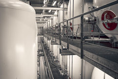 Industrial interior Stock Images
