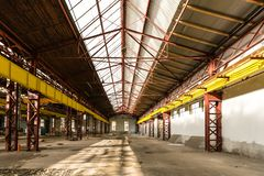 Industrial interior Royalty Free Stock Photo