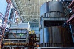 Industrial interior Royalty Free Stock Photos