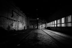 Industrial interior of a factory Royalty Free Stock Images