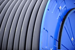 Industrial Irrigation Hose Stock Photography