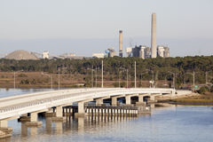 Industrial Jacksonville Royalty Free Stock Image