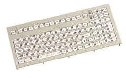 Industrial Keyboard Royalty Free Stock Photo