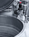 Industrial kitchen cauldron Royalty Free Stock Photography