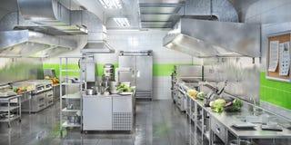 Free Industrial Kitchen. Restaurant Modern Kitchen Stock Photos - 154689553