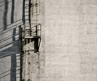 Industrial ladders Stock Image