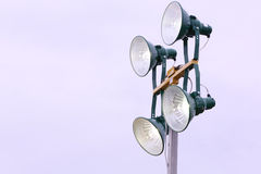 Industrial lamp Stock Photos