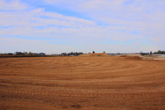 Industrial Land Fill Site Royalty Free Stock Photos