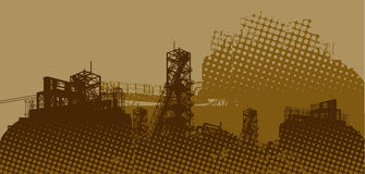 Industrial landscape Royalty Free Stock Photo