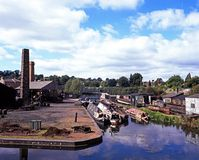 Industrial Landscape, Dudley. Royalty Free Stock Photos