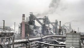 Industrial landscape Stock Photo