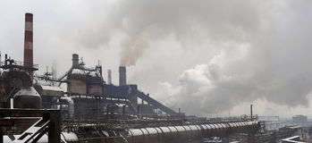 Free Industrial Landscape Of Metallurgical Complex Stock Photos - 12274103