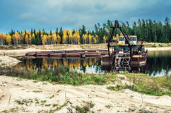 Industrial landscape Royalty Free Stock Image