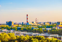 Industrial landscape Stock Images