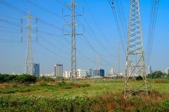 Industrial landscape. Stock Photo