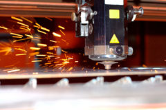 Industrial laser Stock Images