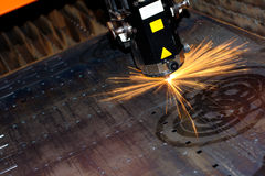 Industrial laser Stock Photos