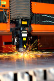 Industrial laser Stock Photo