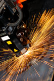 Industrial laser Stock Image