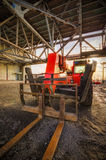 Industrial lift truck Stock Image