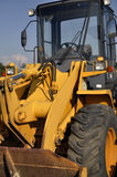 Industrial loader. S are used in a wide variety of settings including construction sites and industrial yards Royalty Free Stock Photos