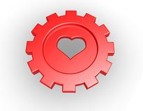 Industrial love Stock Image