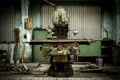 Industrial machines in a factory Royalty Free Stock Image