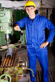 Industrial machinist Stock Photo