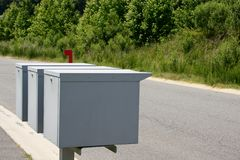 Industrial Mailbox Stock Image
