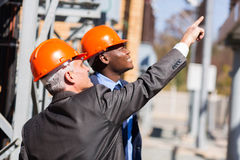 Industrial managers Stock Images