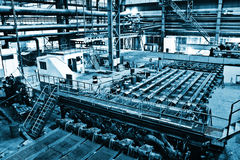Industrial manufacturing Stock Image