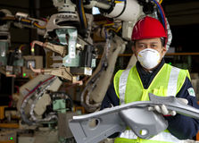 Industrial manufacturing Royalty Free Stock Photography