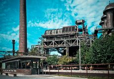 Industrial manufacturing plant Royalty Free Stock Photos