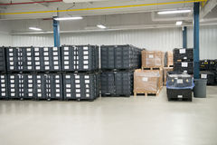 Industrial Manufacturing Warehouse Shop Floor Stock Photos