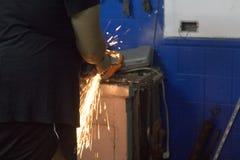 Industrial mecânico Foto de Stock Royalty Free