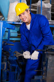Industrial mechanic repairing machine Stock Photos