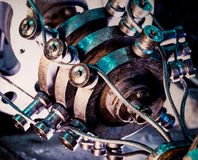 Industrial mechanism Stock Image