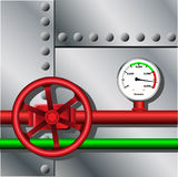Industrial Metal Background Stock Photos