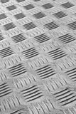 Industrial metal flooring Royalty Free Stock Image