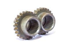 Industrial metal gears Royalty Free Stock Photo