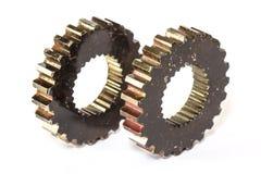 Industrial metal gears Stock Image