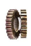 Industrial metal gears Royalty Free Stock Images