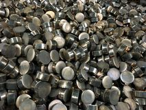 Industrial metal products Royalty Free Stock Image