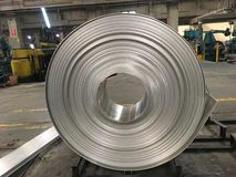 Industrial metal products Stock Image