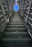 Industrial Metal Steps Royalty Free Stock Photos